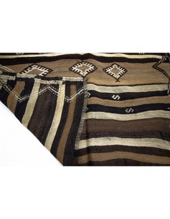 One of a Kind Vintage Turkish Kilim Rug