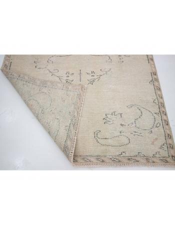 "Washed Out Vintage Turkish carpet - 4`5"" x 8`4"""