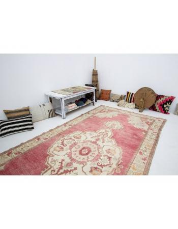 "Vintage 1960's Wool Turkish Rug - 5`5"" x 10`8"""