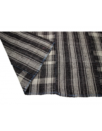 """Large Vintage Modern Striped Kilim Rug - 8`0"""" x 13`5"""""""