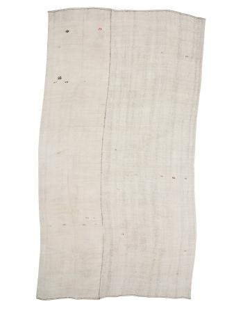 """Oversized Vintage White Hemp Kilim Rug - 8`6"""" x 15`11"""""""