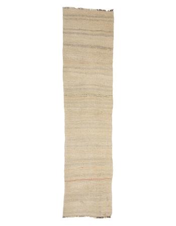 """Vintage Hemp Kilim Rug - 2`2"""" x 9`0"""""""