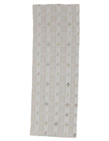 "Small Vintage Decorative Kilim Rug - 2`0"" x 5`7"""