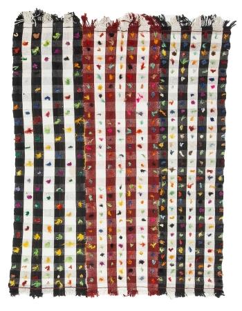 """Decorative Vintage Filikli Kilim Rug - 5`5"""" x 7`7"""""""