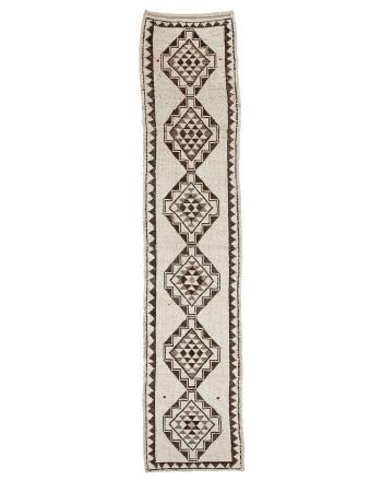 "Vintage Modern Herki Wool Runner - 2`11"" x 14`5"""