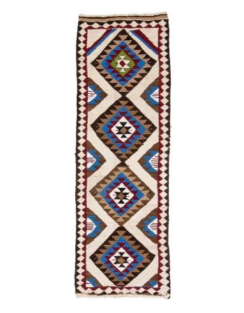 "Vintage Unique Decorative Kilim Runner - 3`0"" x 8`11"""