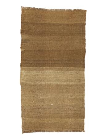 "Brown Mini Vintage Kilim Rug - 1`6"" x 2`11"""