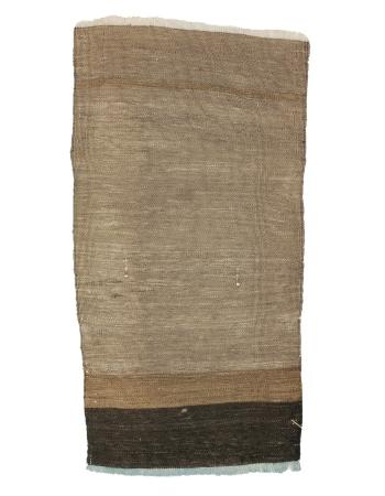 "Brown Mini Vintage Kilim Rug - 1`7"" x 3`0"""