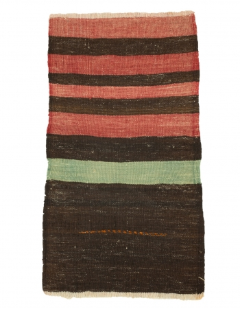 "Mini Striped Vintage Kilim Rug - 1`9"" x 3`0"""