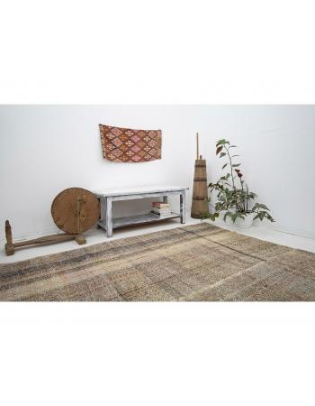 """Vintage Turkish Modern Kilim Rug - 8`0"""" x 10`8"""""""