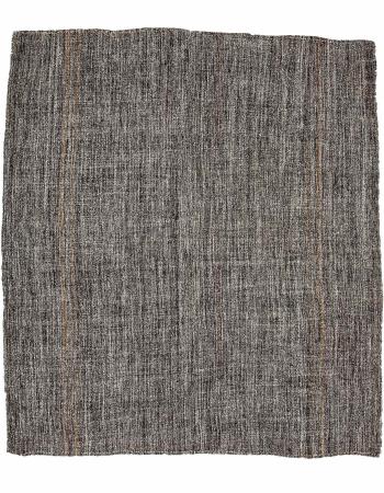 "Gray Vintage Turkish Modern Kilim - 8`10"" x 10`0"""