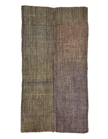 """Vintage Modern Turkish Kilim Rug - 6`8"""" x 12`6"""""""