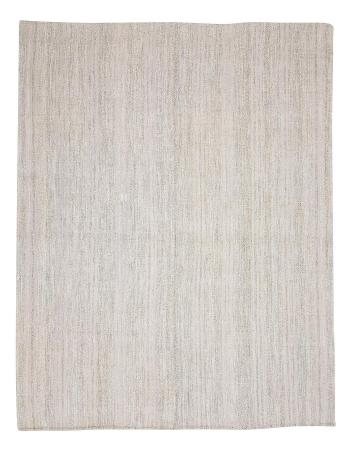 "Large Gray Vintage Kilim Rug - 7`10"" x 9`10"""