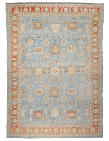 """Oversized Vintage Washed Out Mahal Rug - 15`9"""" x 20`4"""""""