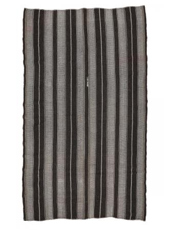 """Unique Vintage Large Kilim Rug - 7`8"""" x 12`8"""""""