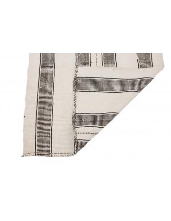 "Vintage Modern Small Kilim Runner - 2`11"" x 8`2"""