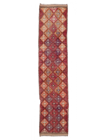 """Vintage Unique Decorative Runner - 2`7"""" x 11`7"""""""