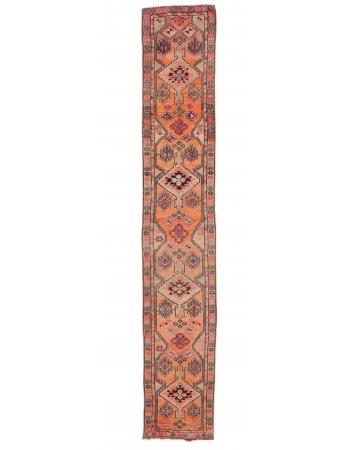 """Vintage Decorative Herki Runner - 2`8"""" x 15`9"""""""