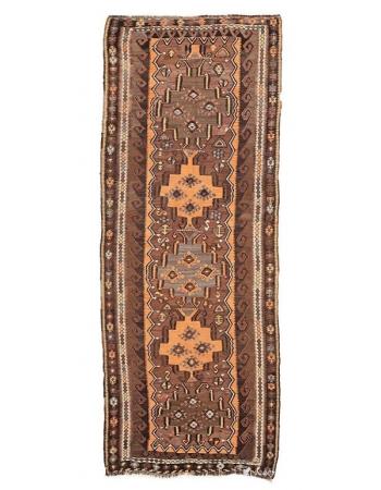"""Vintage Decorative Kars Kilim Rug - 4`6"""" x 11`10"""""""
