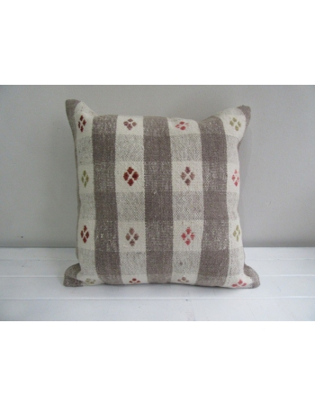 Handmade decorative kilim pillov cover