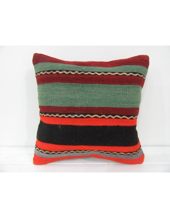 vintage minimal striped kilim pillow cover