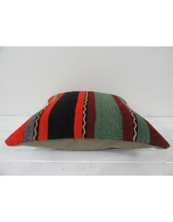 vintage minimal striped kilim pillow cover