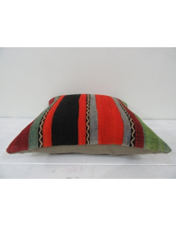 vintage colorful striped kilim pillow covers
