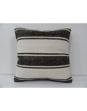 Handmade kilim pillow cover striped