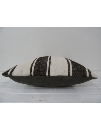 Handmade kilim pillow cover striped