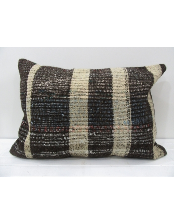 Handmade decorative Turkish kilim pillow cover