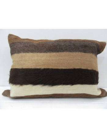 Brown Handmade decorative kilim pillow cover