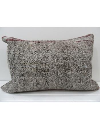 Decorative vintage Turkish kilim pillow