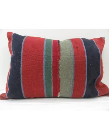 Handmade vintage Turkish kilim pillow