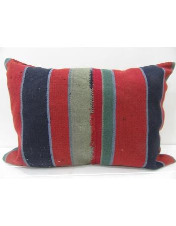 Handmade decorative Turkish kilim pillow cover