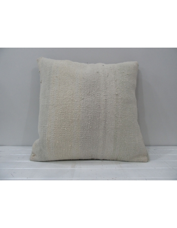 White vintage Turkish cushion cover