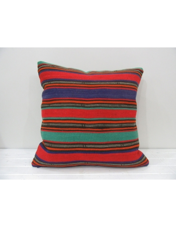 Colorful decorative vintage pillow cover