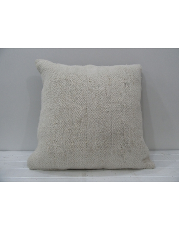White decorative vintage pillow cover