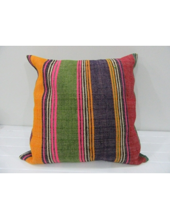 Handwoven Decorative Colorful Turkish kilim pillow cover
