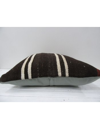Brown handmade decorative pillow cover