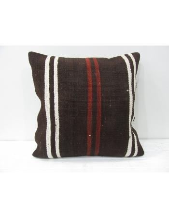 Brown decorative vintage pillow cover