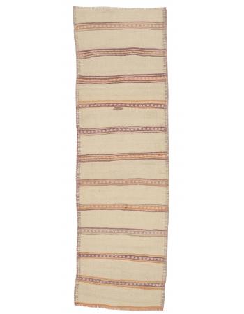"Vintage Striped Kilim Runner - 2`9"" x 9`0"""