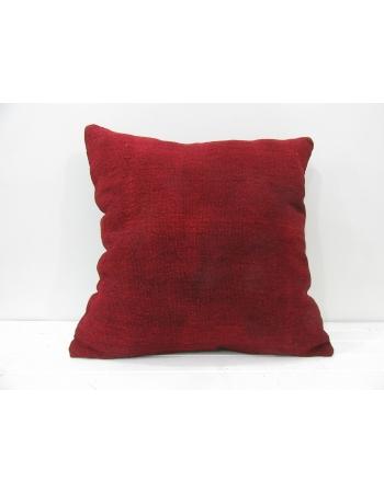 Burgundy handmade Turkish decorative pillow