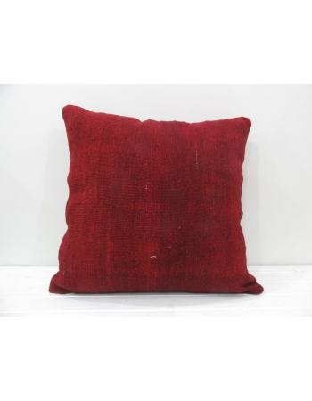 Burgundy decorative vintage pillow cover