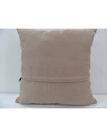 Vintage handmade beige Turkish kilim pillow cover