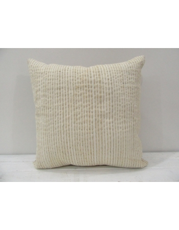 Vintage handmade beigeTurkish kilim pillow cover