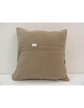 Handmade vintage Turkish kilim pillow cover