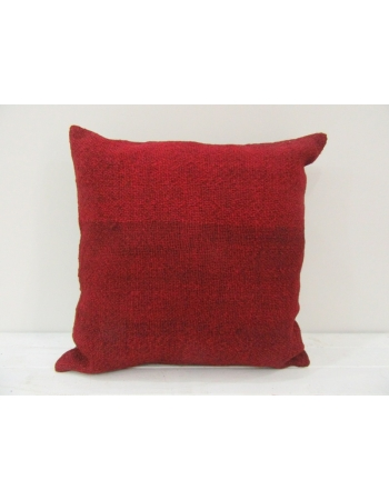 Vintage Red Turkish Kilim Pillow cover