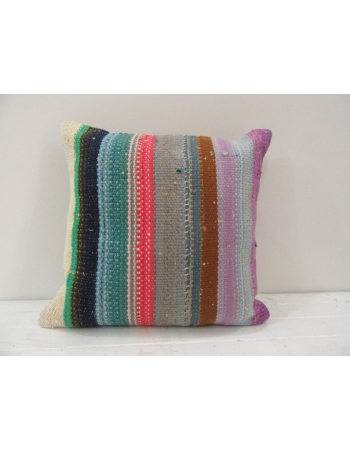 Vintage Colorful Turkish Kilim Pillow cover