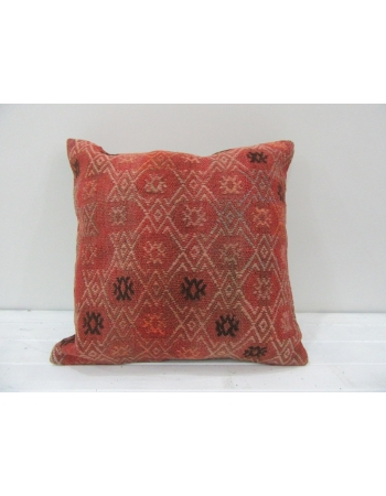 Vintage Handmade Decorative Turkish Kilim pillow cover