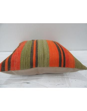 Vintage Colorful Turkish Kilim Pillow Cover